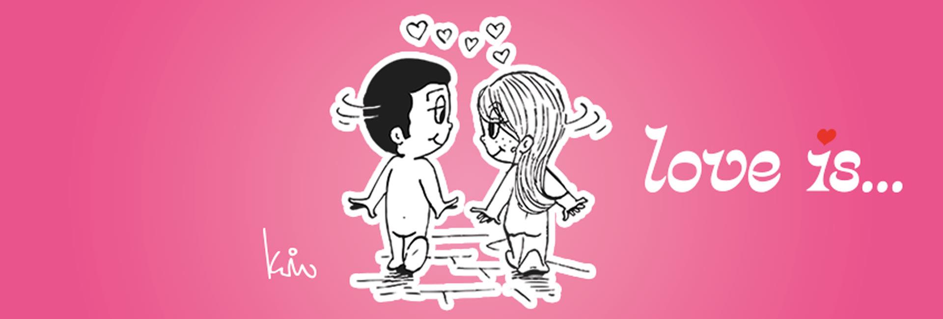 Copertina di Love is...