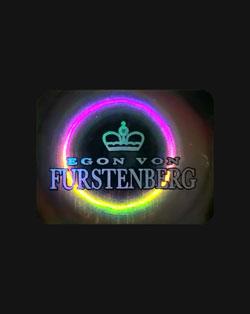 Ologramma anticontraffazione Egon Von Furstenberg