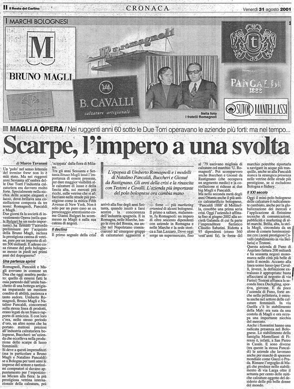 La stampa parla di B.Cavalli