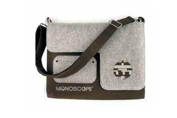 Pelletteria, portafogli e cinture per Monoscope