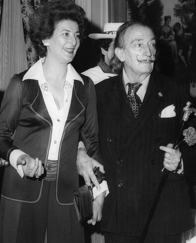 Giulia Coen e Salvador Dalí per Roberta di Camerino
